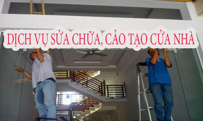 Sửa chữa cải tạo các ô cửa