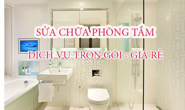 Sửa chữa cải tạo nhà tắm (Phòng tắm  )