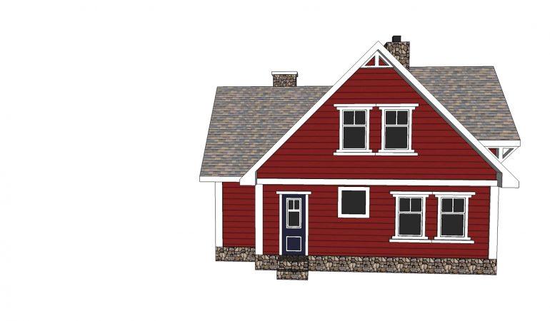 Xây dựng mẫu nhà 2 tầng mang phong cách châu âu