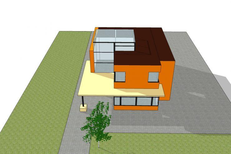 Mẫu thiết kế xây dựng nhà ở 2 tầng tuyệt đẹp