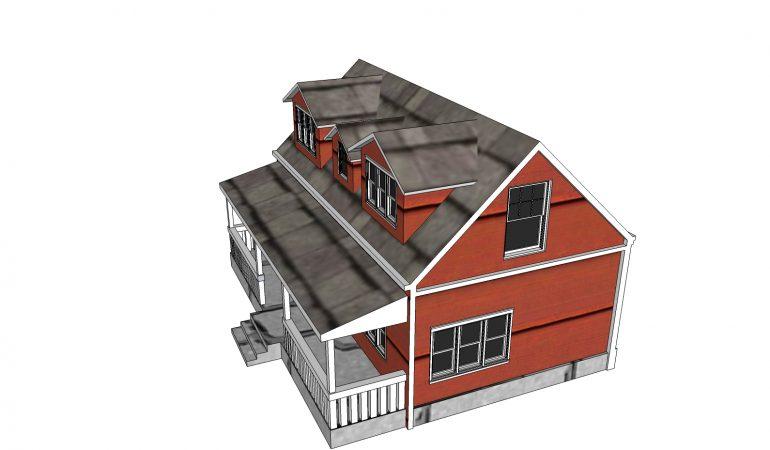 Mẫu thiết kế nhà cấp 4 phong cách hiện đại