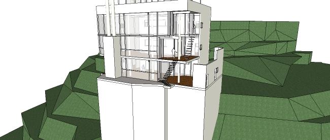 Mẫu nhà 4 tầng thiết kế nhà nghỉ, khách sạn