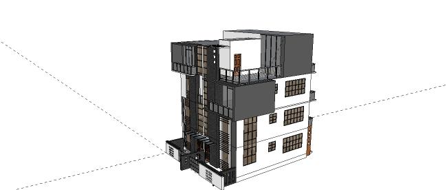 Xây dựng mẫu nhà 4 tầng thiết kế đẹp