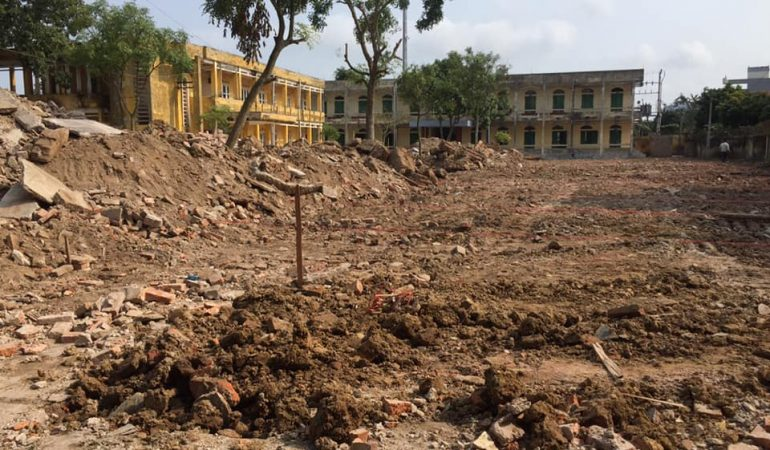 Dịch vụ xây dựng sửa chữa, cải tạo công trình trường học