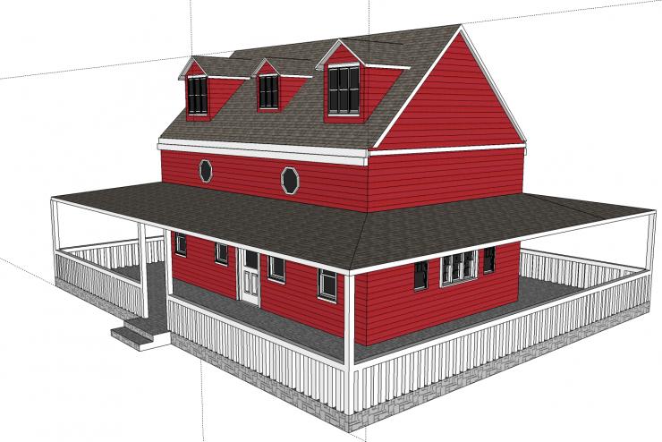 Mẫu nhà cấp 4 đẹp xây dựng nhà hiện nay