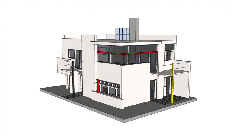 Xây dựng nhà thiết kế 2 tầng dành cho công trình văn phòng làm việc