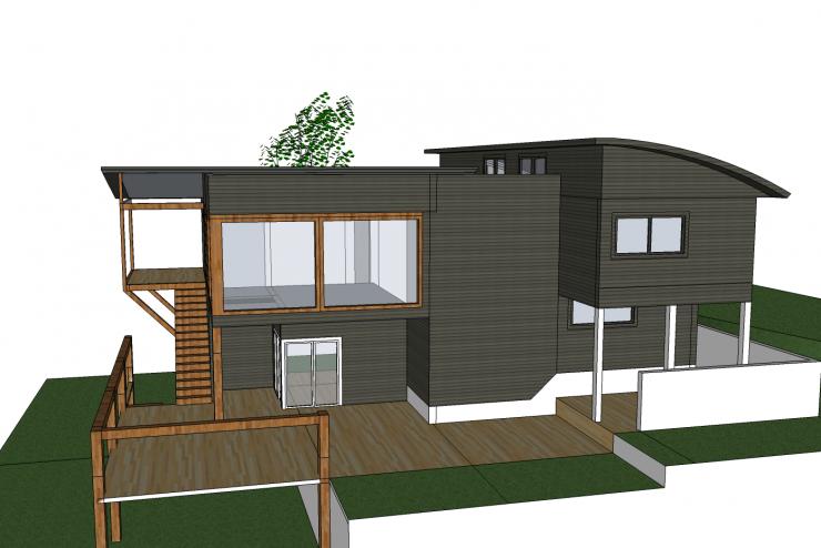 Xây dựng nhà biệt thự với thiết kế 2 tầng phong cách hiện đại
