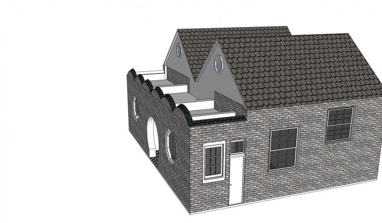 Xây dựng nhà với thiết kế 1 tầng mái vòm thái đẹp mắt