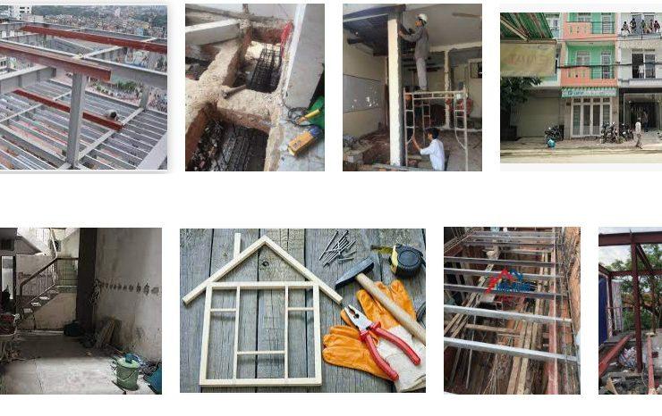 Cải tạo sửa chữa nâng tầng nhà