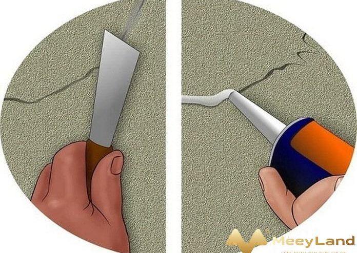 Gợi ý phương pháp xử lý nứt tường bê tông hiệu quả