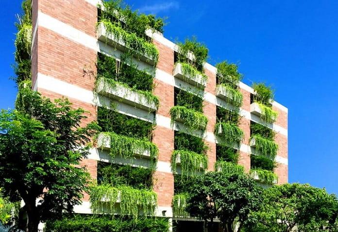 Atlas Hotel Hoian - Kiến trúc xanh là gì? Tiêu chí, lợi ích, nguyên tắc - kien-thuc-xay-dung