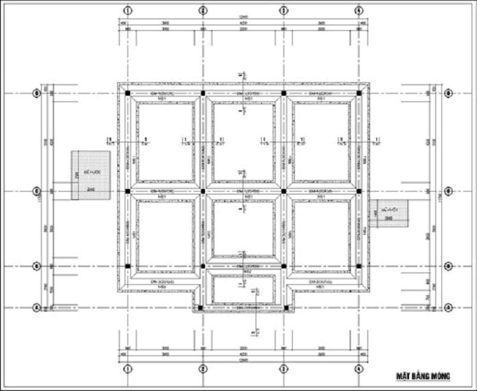 Ban ve mong bang mat cat 2 cho nha 1 tang - Móng băng: Kết cấu, cấu tạo và cách bố trí thép móng băng - kien-thuc-xay-dung