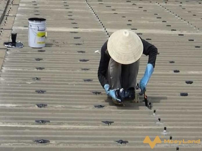 Chong dot mai ton nen gia co va thay moi toan bo dinh vit - Chống dột mái tôn – Tiết lộ cách chống dột hiệu quả 100% - giai-phap-xay-dung