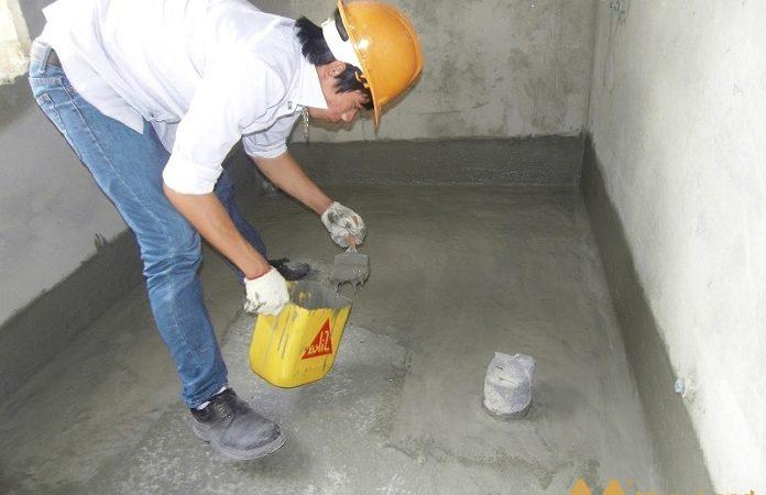 Lợi ích của việc chống thấm nhà vệ sinh trong kết cấu toàn bộ ngôi nhà