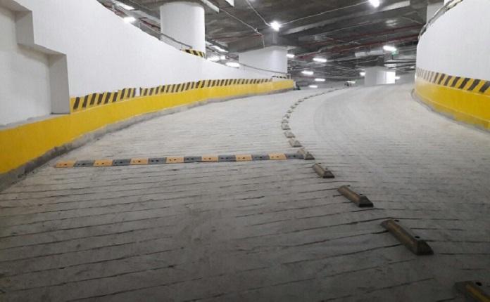 ram doc tang ham luon duoc dau tu ky luong nham dam bap an toan luu thong tuyet doi - Thông tin đầy đủ về tiêu chuẩn ram dốc tầng hầm an toàn nhất - kien-thuc-xay-dung