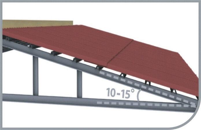 Tiêu chuẩn độ dốc mái tôn và cách tính chuẩn trong kỹ thuật