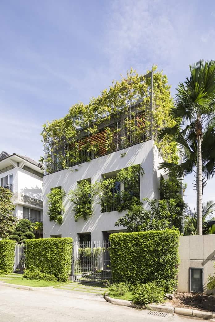 The Stepping Park House - Kiến trúc xanh là gì? Tiêu chí, lợi ích, nguyên tắc - kien-thuc-xay-dung