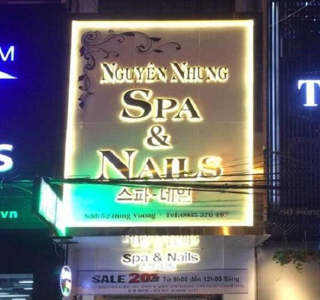 Tổng hợp các mẫu biển quảng cáo Nail Hot nhất 2021